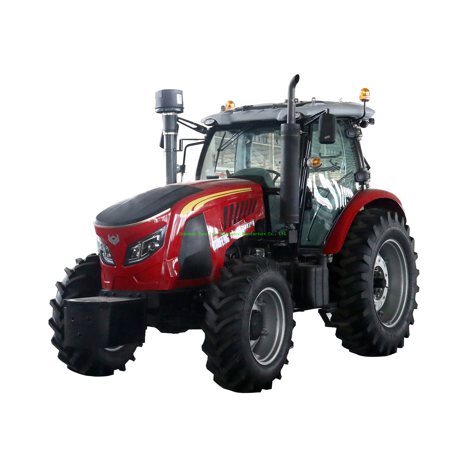 TF 100-165HP Tractor 165HP 2WD Mini Small Four Wheel Farm Crawler Tractor Orchard Paddy Lawn Big Garden Walking Diesel China Agricultural Machinery Tractor